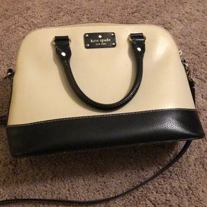 KATE SPADE Berkeley Lane Two Tone Satchel Handbag